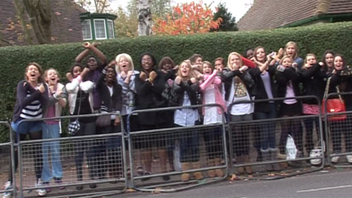 X Factor fans in North London