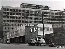 Granada TV studios in Manchester