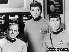 Star Trek scene, circa 1966