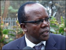 KFF Chairman Sam Nyaweya