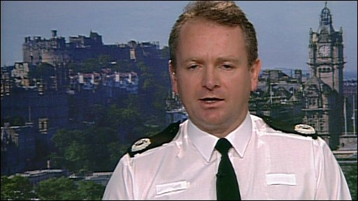 The Assistant Chief Constable of Lothian & Borders Police, Ian Livingsto
