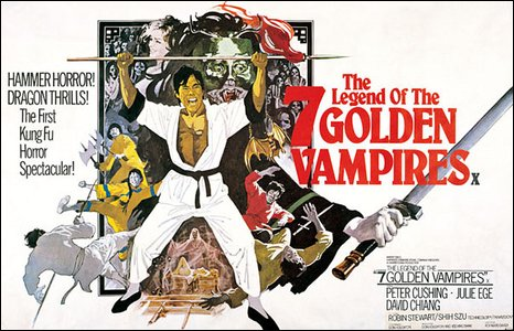 Legend of the Seven Golden Vampires poster