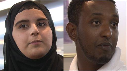 Shaeen Qadir and Hanad Mohamoud