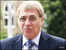 St Johnstone chairman Geoff Brown