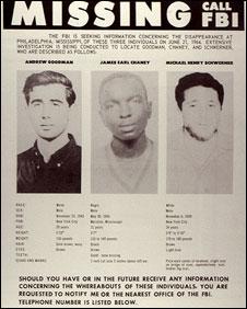 FBI Missing poster