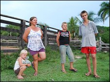 Marle Schroder and her family