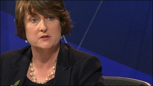 Jacqui Smith on Question Time