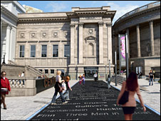 Artist impression of Central library