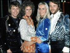 Abba in the '70s