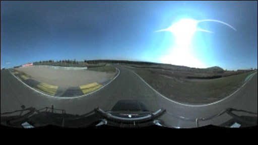 360 degree view from cameras