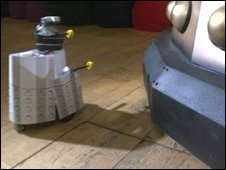 Robot dalek, BBC