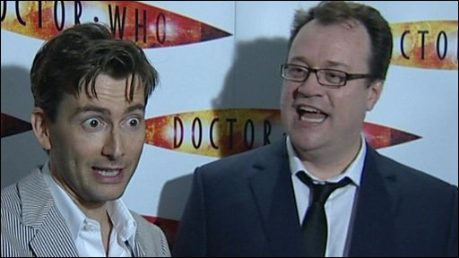 David Tennant and Russel T Davies