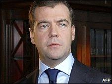 President Dmitry Medvedev 30.10.09