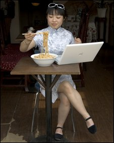 Chinese women on net, BBC
