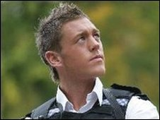 Mark Carter is an openly gay policeman who won Mr Gay UK 2006