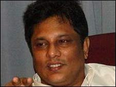 Lasantha Wickremetunge- editor of the Sunday leader killed in February 2009