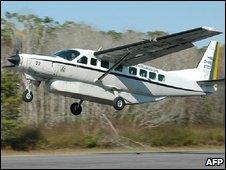 Cessna C-98 Caravan taking off in the Amazon region in Brazil (Handout: Brazilian Air Force)