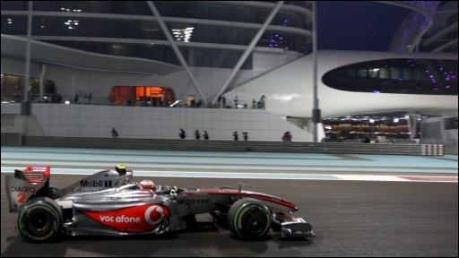 McLaren's Heikki Kovalainen