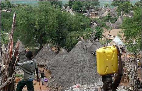 Lobira Boma village in Eastern Equatoria