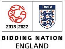 England World Cup bid logo
