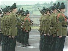 RIR soldiers