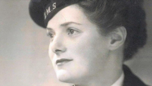 Helen Jackson during World War II