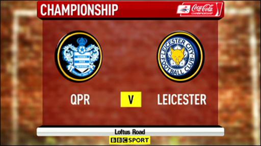 QPR 1-2 Leicester City