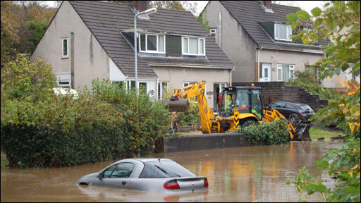 Image of flooding by Rob Phillips