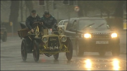 London to Brighton car rally