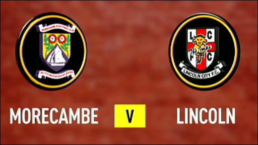 Morecambe 3-1 Lincoln City