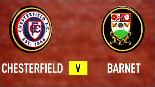 Chesterfield 1-0 Barnet