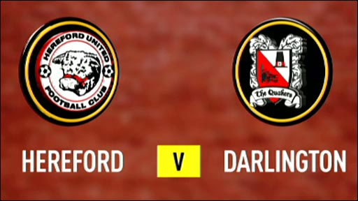 Hereford 2-1 Darlington