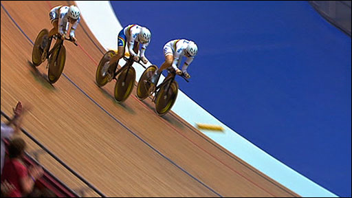 GB women's pursuit team