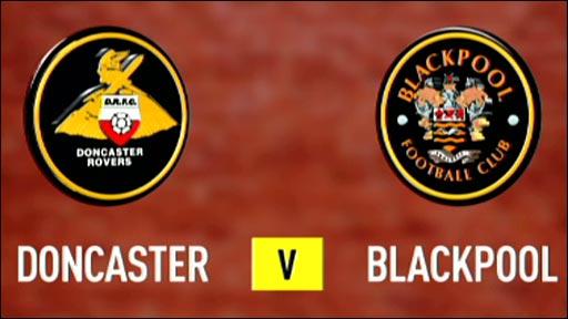 Doncaster 3-3 Blackpool
