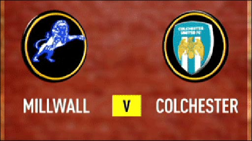 Millwall 2-1 Colchester