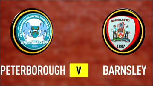 Peterborough 1-2 Barnsley