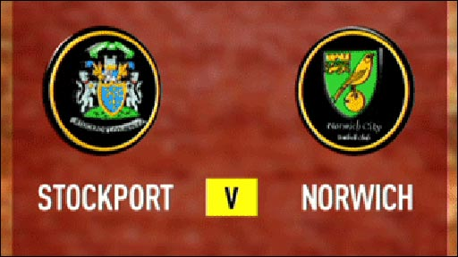 Stockport 1-3 Norwich