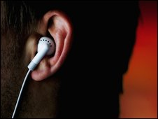 earphone in ear