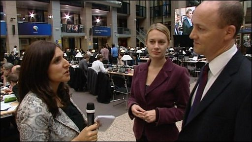 Journalists discuss the Lisbon Treaty