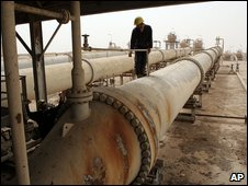 The Zubair oilfield in southern Iraq.