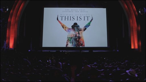 Screening of Michael Jackson's This Is It