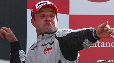 Barrichello took top spot at Monza