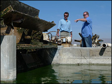 Algae vat (BBC)