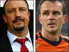 Liverpool boss Rafa Benitez and ex-Reds star Dietmar Hamann