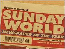 Sunday World newspaper