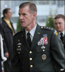 Gen Stanley McChrystal. File pic