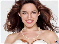 Kelly Brook on Calendar Girls poster