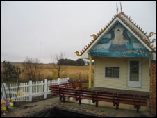 Buddhist temple in Storm Lake