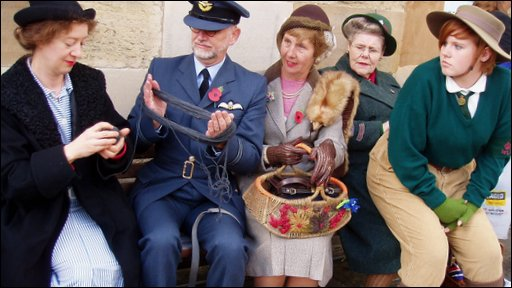 Wartime weekend in North Yorkshire