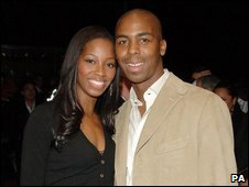 Jamelia and Darren Byfield